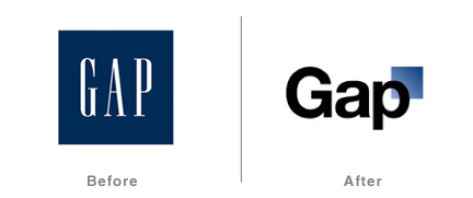 Gap Redesign