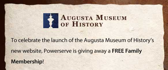 Free Family Membership to the Augusta Museum of History
