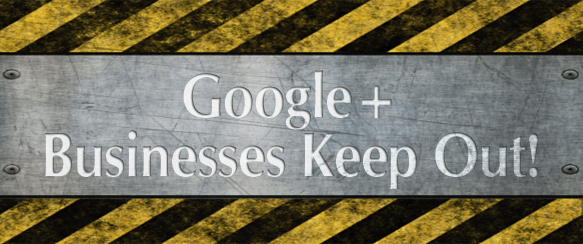 Google+ Warning