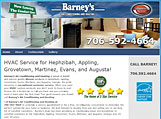 Barneys Air Conditioning Website