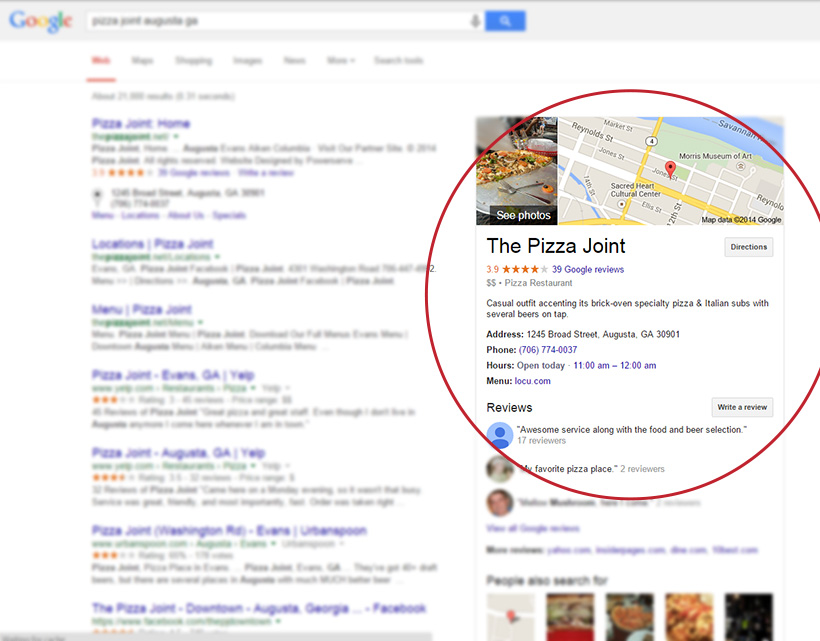 All About Google Places